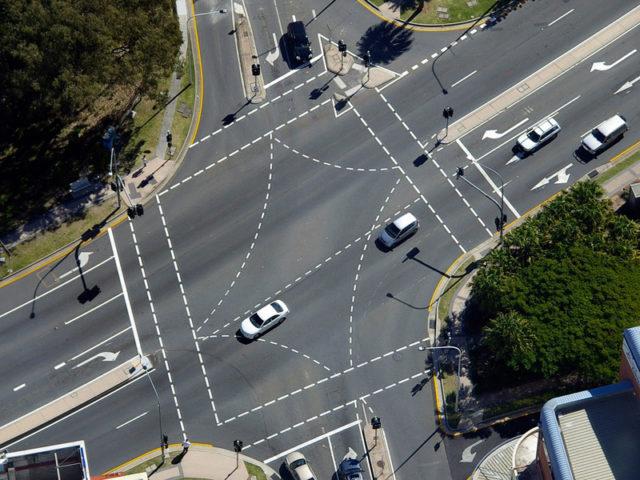 Australian cross road