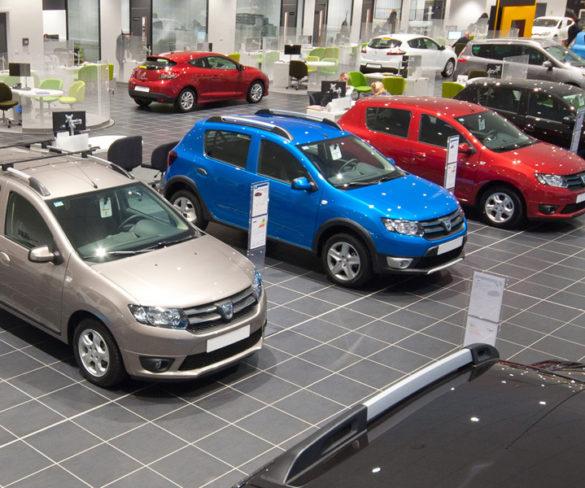 European car registrations drop 2% in September