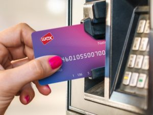 Wex Esso Card in pump