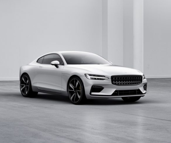 Volvo's Polestar reveals plug-in hybrid with 150km EV range