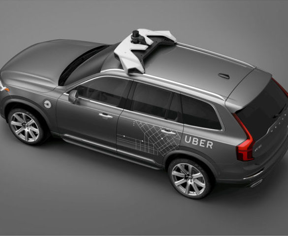 Volvo helps foundations for self-driving Uber taxis