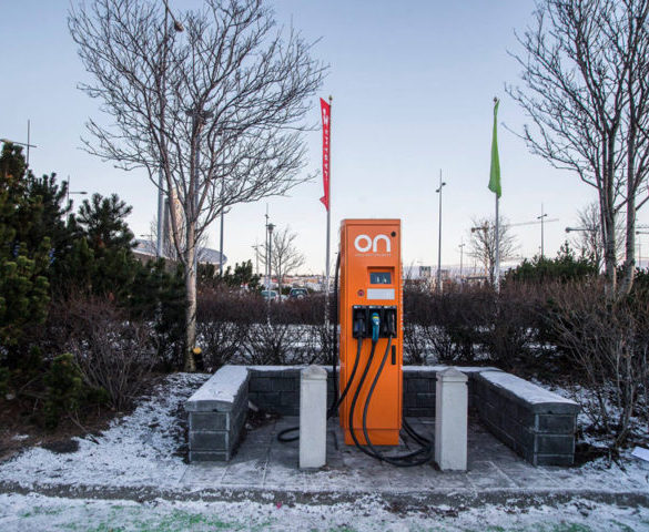 ABB wins contract for 15 new fast chargers in Iceland