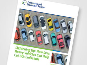 How less heavy vehicles can help cut CO2 emissions report