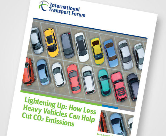 Adding lightness to vehicles could reduce emissions by 40%
