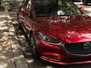 New Mazda 6 unveil at LA Motor Show