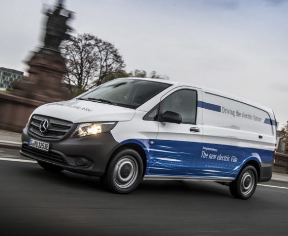 Mercedes-Benz Vans to electrify all commercial model ranges