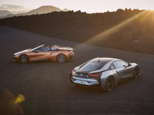 New BMW i8 Roadster and updated Coupé revealed at LA Auto Show