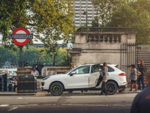 Porsche Chauffeur car fleet in London