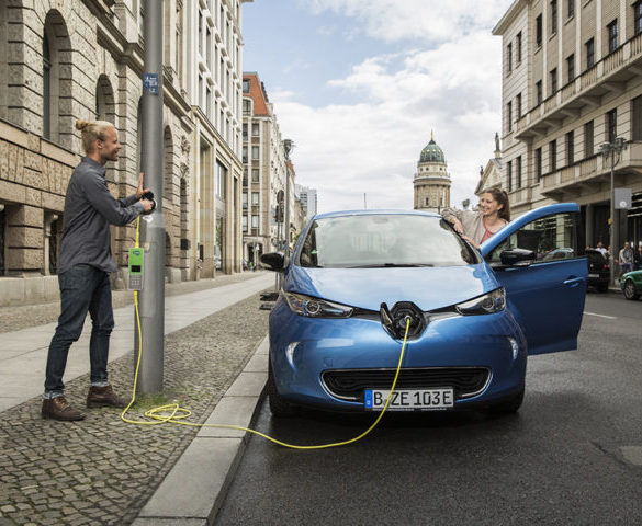 Charging infrastructure not hampering EV take-up, report finds