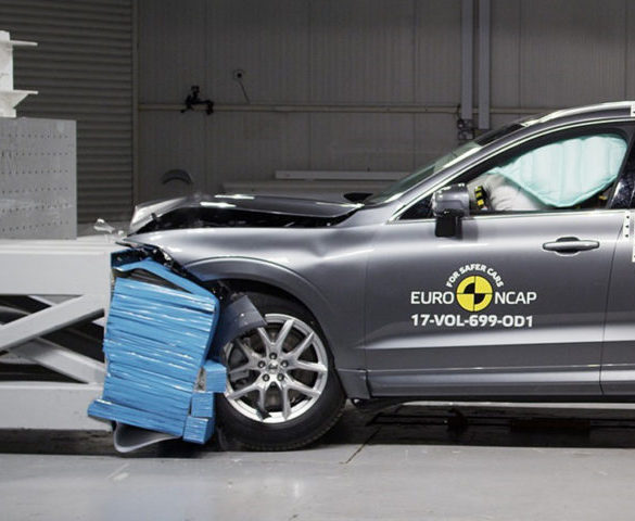 Volvo XC60 'aces' Euro NCAP tests