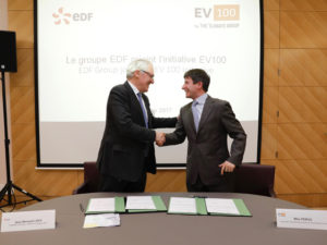 EDF Group has committed to transitioning to electric vehicles by 2030 through EV100