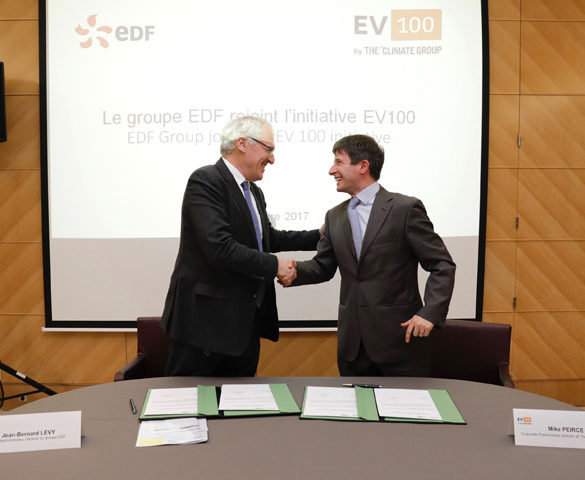 EDF to convert whole car fleet to EVs by 2030
