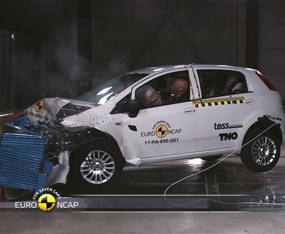 Fiat Punto scores first-ever Euro NCAP zero-star rating