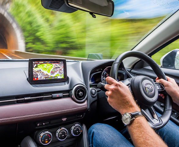 Mazda's plans for autonomous tech to keep driver in control
