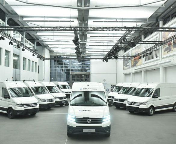 Volkswagen e-Crafter starts fleet trials