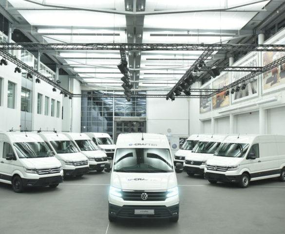 Volkswagen e-Crafter starts fleet trials