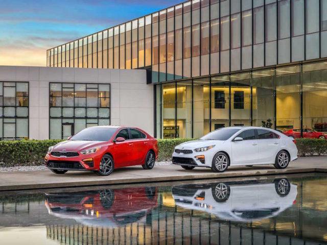 Kia's US-focused Forte compact sedan.