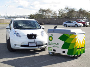 BP invested in mobile electric vehicle charging company FreeWire