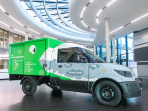 Deutsche Post DHL Group is trialling particulate filters on StreetScooter test vans