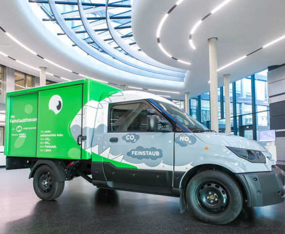 World's 'first' zero-emission neutral vehicles created by Deutsche Post