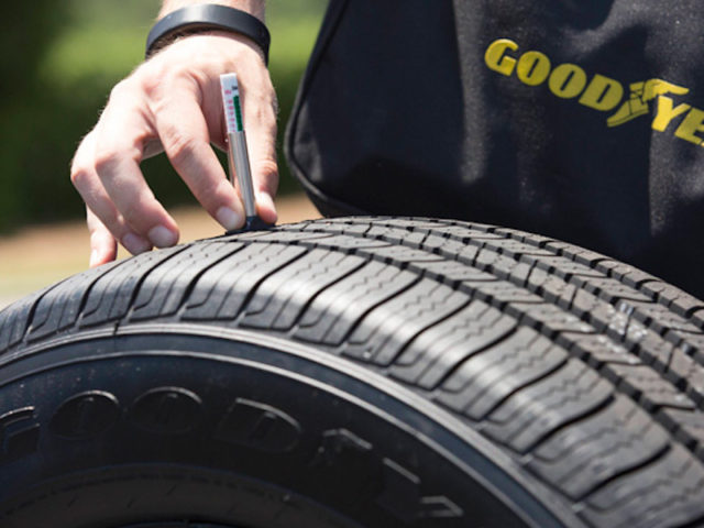 The Goodyear service will help Stratim's clients predict when their tyres need service or replacement.