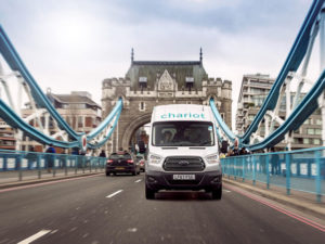 Ford's Chariot service will offer ride-sharing to Londoners