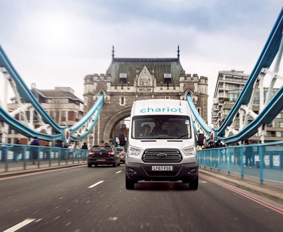 Ford ride-share solution for commuters debuts in London