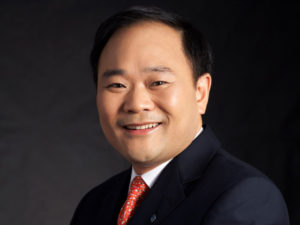 Mr Li Shufu, chairman of Zhejiang Geely Holding Group Co. Ltd