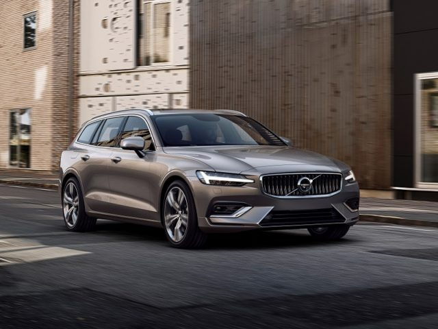 The new Volvo V60 launches with petrol, diesel and PHEV drivetrains