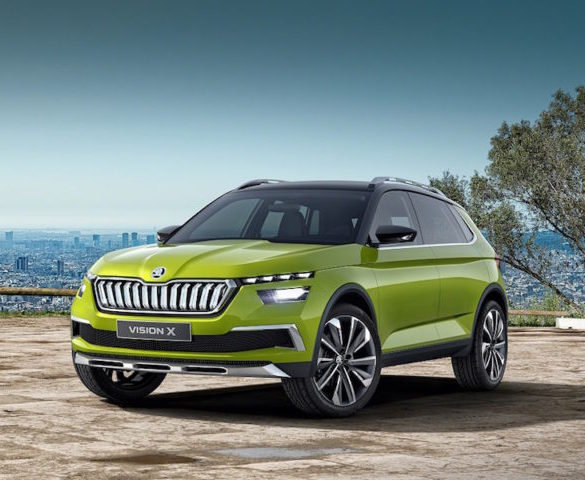 Skoda Vision X concept shows plans for compact crossover