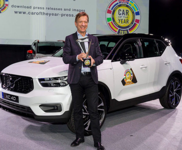 Volvo XC40 takes European Car of the Year title