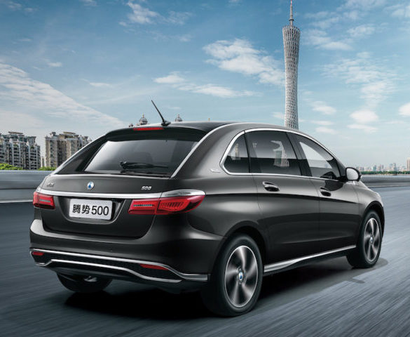 Daimler and BYD unveil China-only EV with 500km range