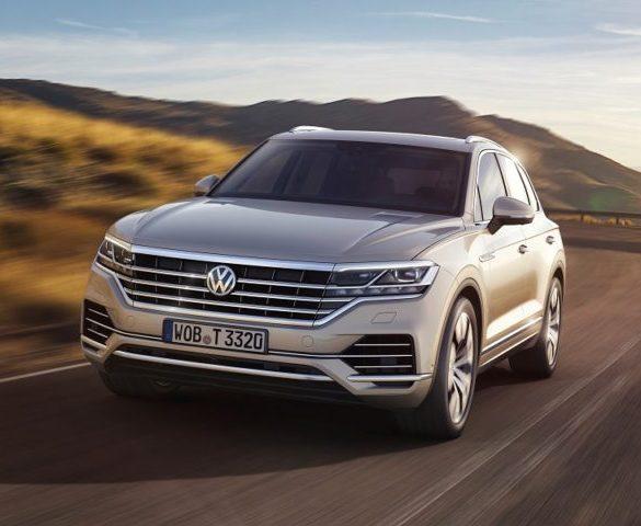 Volkswagen reveals new Touareg SUV