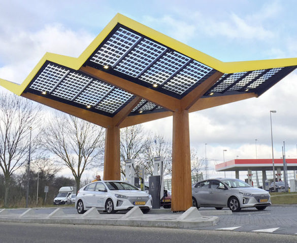 Fastned to roll out 350kW EV chargers