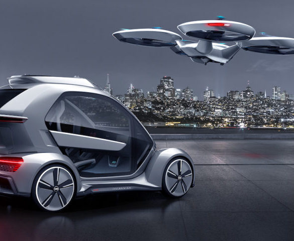 Audi and Airbus develop autonomous flying taxi concept