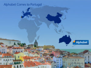 Portugal is the 20th Country where Alphabet now operates