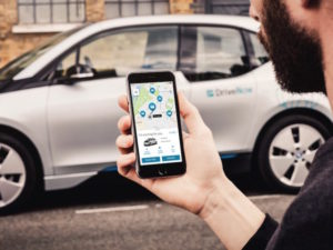The merger includes car sharing through the DriveNow and Car2Go businesses.
