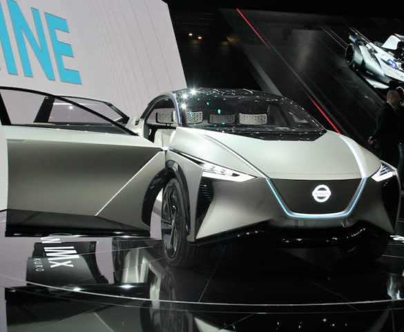 Upgraded Nissan concept debuts Brain-to-Vehicle tech