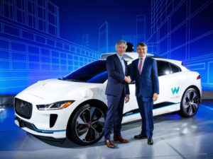 20,000 I-Pace electric vehicles are planned for Waymo, in a $1.2bn deal