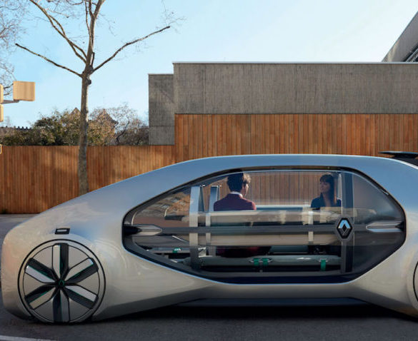 Renault shares vision of electric ride-hailing with EZ-GO concept