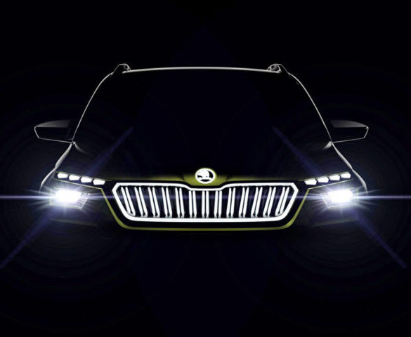 Vision X concept pioneers Škoda's CNG hybrid-electric drive