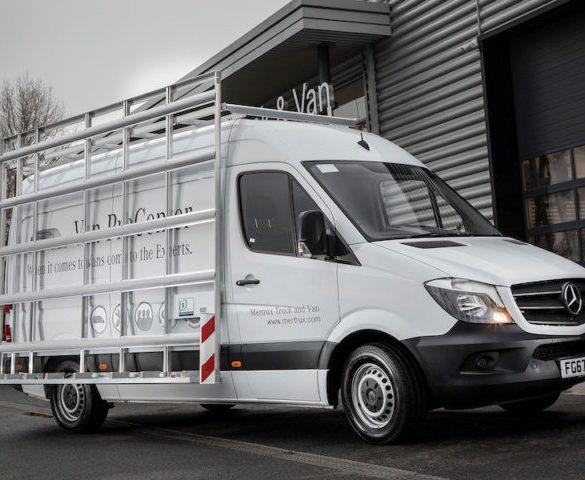 Supertrucks develops multi-use van rack
