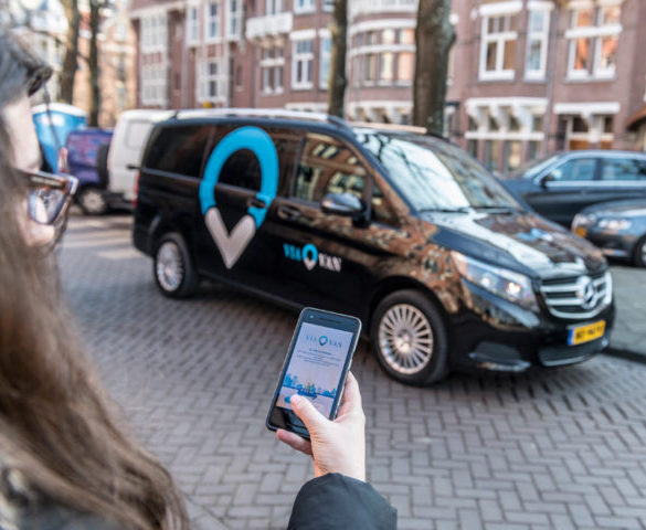 Amsterdam becomes first city to deploy Daimler's ViaVan ridesharing service