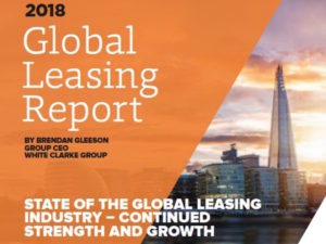 White Clarke's Global Leasing Report shows continued strength and growth for the industry.