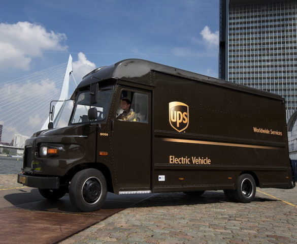 Switch to smart grid to enable all-electric fleet at UPS