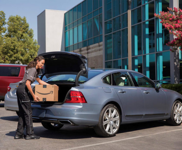 Amazon introduces in-car delivery for GM and Volvo customers
