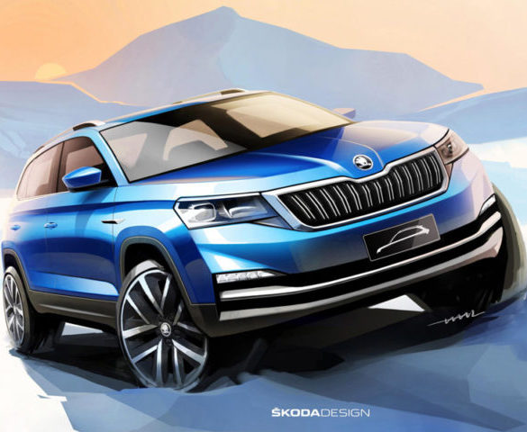 Skoda teases China-only city SUV
