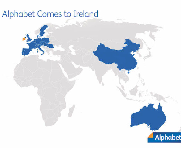 Alphabet expands into Ireland