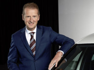 Herbert Diess, CEO of Volkswagen Group