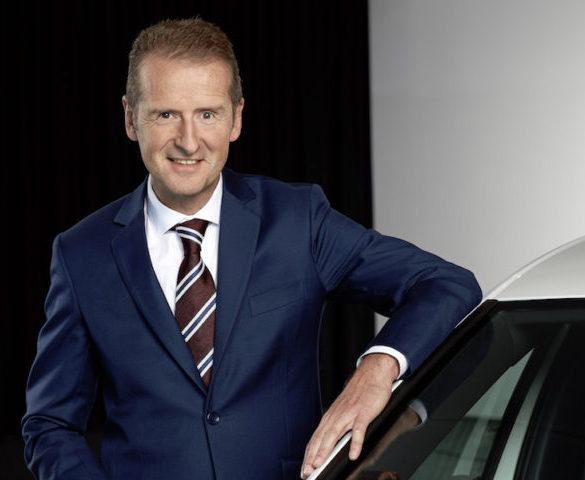 Herbert Diess named new CEO of VW Group